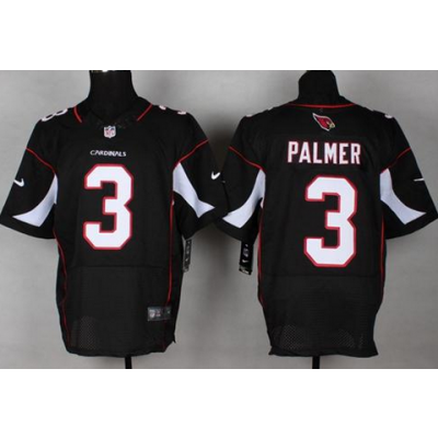 Nike Arizona Cardinals Carson Palmer #3 Black Elite Jersey