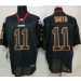 Nike Kansas City Chiefs No.11 Alex Smith Lights Out Black Male Stitched Elite Jersey