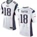 Nike Patriots 18 Matthew Slater Elite White Jersey
