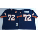 Mitchell and Ness Chicago Bears #72 William Perry Throwback Navy Blue Jersey