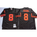 Mitchell and Ness San Francisco 49ers #8 Young Throwback Black Jersey