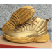 Air Jordan 12 Gold Shoes