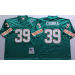 Mitchell And Ness NFL Dolphins 39 Larry Csonka Green Throwback Jersey