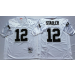 NFL Mitchell and Ness Retired Oakland Raiders 12 Kenny Stabler White Jersey