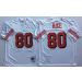 Mitchell and Ness NFL 49ers 80 Jerry Rice White Throwback Jersey