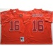 Mitchell and Ness NFL 49ers 16 Joe Montana Red Throwback Jersey