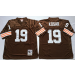 NFL Mitchell&Ness Cleveland Browns 19 Bernie Kosar Brown Throwback Jerseys