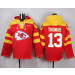 Nike Chiefs 13 De'Anthony Thomas Red Player Pullover NFL Sweatshirt Hoodie