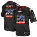 Nike Chiefs 29 Eric Berry Black USA Flag Fashion Elite Men Jersey