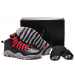 Air Jordans 10 Public School Black Shoes