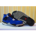 "Air Jordan 4 ""Encore"" Blue Black Men Shoes"