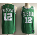 NBA Celtics 12 Terry Rozier 2017-18 New Season Green Nike Men Jersey