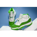 Air Jordan 11 White And Green Retro Shoes