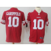 Nike 49ers 10 Jimmy Garoppolo Scarlet Game Men Jersey