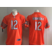 Nike Bears 12 Allen Robinson II Orange Vapor Untouchable Limited Men Jersey