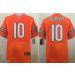 Nike Chicago Bears 10 Mitchell Trubisky Orange Elite Men Jersey