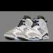 "Air Jordan 6 Retro ""Flint"" White Gray Shoes"