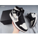 "Air Jordan 1 Mid ""Equality"" Black White Shoes"