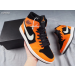 "Air Jordan 1 Mid ""Orange Peel"" Shoes"