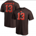 Nike Browns 13 Odell Beckham Jr. Brown T Shirt