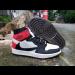Air Jordan 1 High OG TS SP White Black Red Shoes