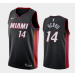 NBA Heat 14 Tyler Herro Black Nike Men Jersey