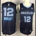 NBA Grizzlies 12 Ja Morant Navy 2019 Draft Nike Men Jersey