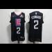 NBA Clippers 2 Kawhi Leonard Black Swingman Nike Men Jersey With Logo