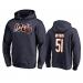 Chicago Bears 51 Dick Butkus 100th Navy Hoodie