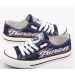 All Sizes NFL New England Patriots Repeat Print Low Top Sneakers