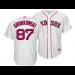 MLB Red Sox 87 Rob Gronkowski White Cool Base Men Jersey