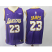 NBA Lakers 23 LeBron James Purple Nike Youth Jersey
