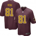 NFL Redskins 81 Art Monk Red Gold 80TH Anniversary Elite Men Jersey
